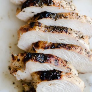 This apple cider chicken is THE BEST chicken I've ever made. Life. Changing. Chicken. The marinade is quick and easy, and the brined chicken grills up in 10 minutes to charred, juicy, sweet + savory perfection. This is a family friendly weeknight recipe that everyone will love!
