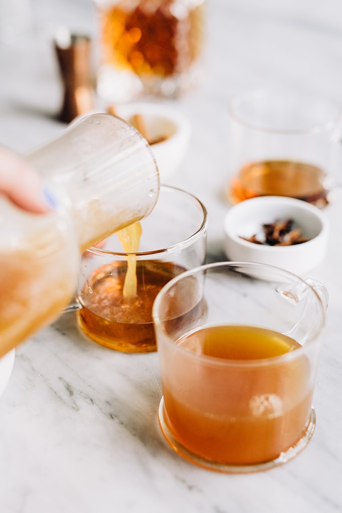 Apple cider hot toddy with maple syrup our salty kitchen for Hot toddy drink recipe