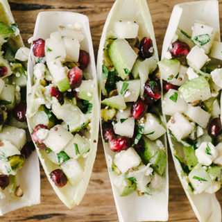 Winter Harvest Endive Cups Holiday Appetizer