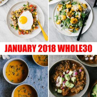 Whole30 January + My Favorite Winter Whole30 Recipes