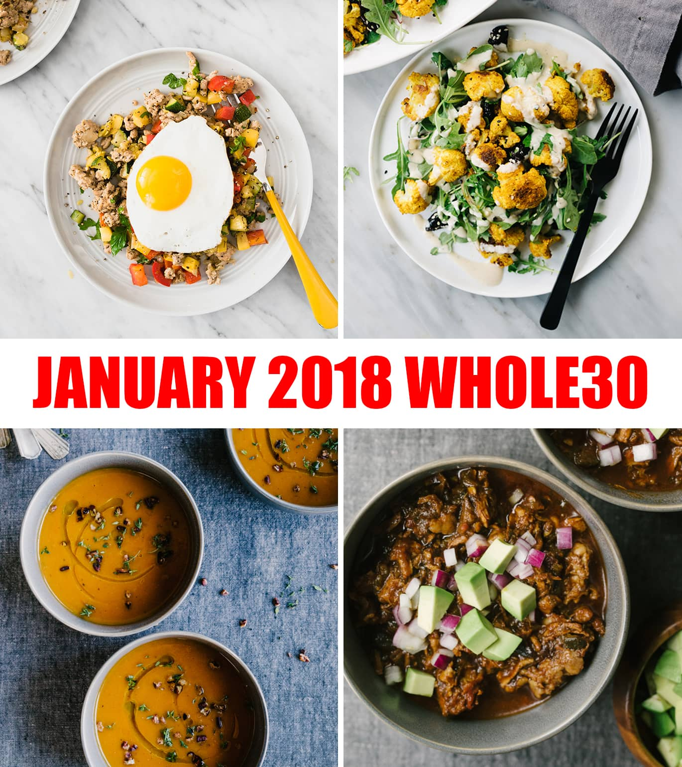 Are you doing a Whole30 this January? Me too!! Let's be buddies. Join me all month for easy, seasonal, approachable Whoel30 recipes. #whole30 #recipes #seasonal #paleo