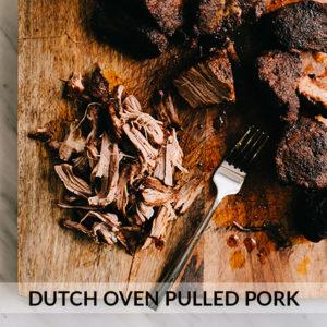 Dutch Oven Pulled Pork