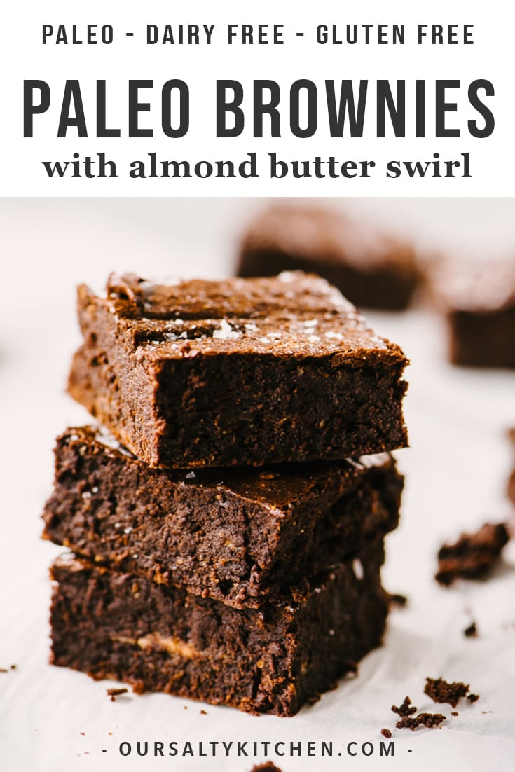 Life changing paleo brownies are here! These are the best gluten free, dairy free, refined sugar free brownies out there. No weird ingredients or gimmicks. You need just 8 real food ingredients and 1 hour of your time to prepare the ultimate chocolate paleo dessert recipe. #paleo #brownies #dairyfree #glutenfree #paleodessert #chocolate #baking