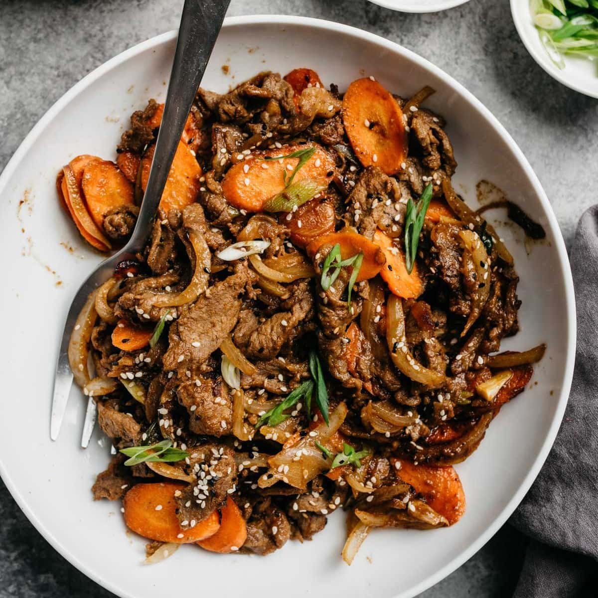 Whole30 Bulgogi Healthy Korean Beef Bbq Our Salty Kitchen