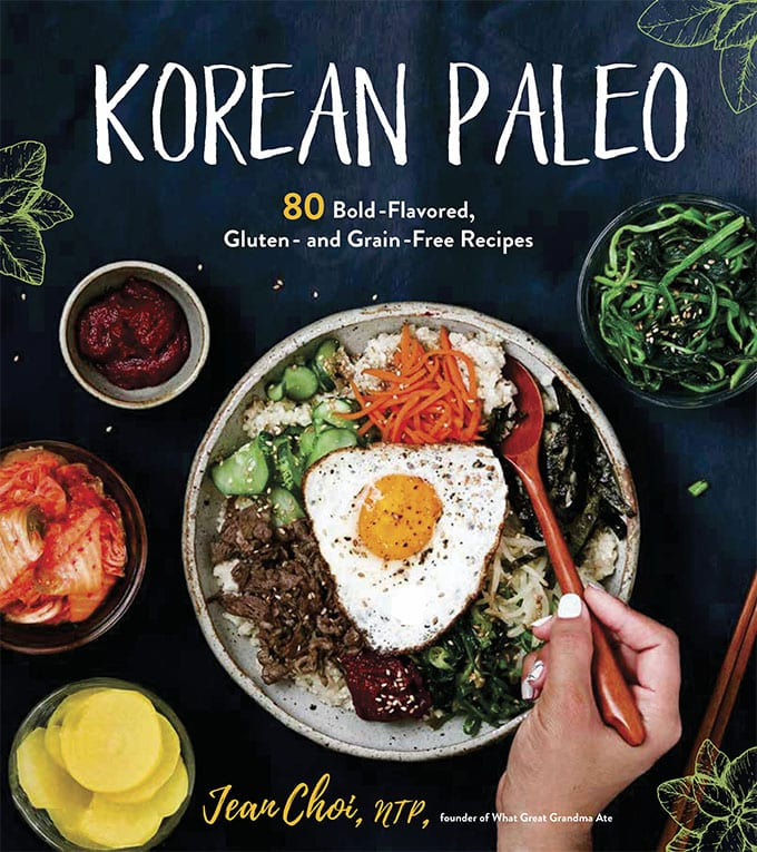 An image of the cover of the book Korean Paleo by Jean Choi.